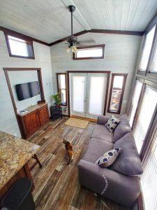 CreekFire Motor Ranch (Savannah, GA) - Cabin Aerial