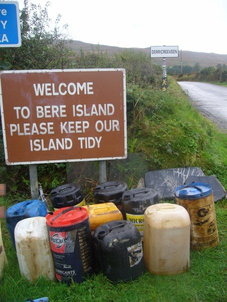 "Trash of Bere Island - Ireland's ""Tidiest Island"" (courtesy of Natalie Taylor)"