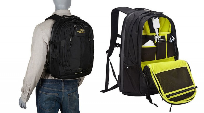The North Face Surge II Charged Laptop Backpack