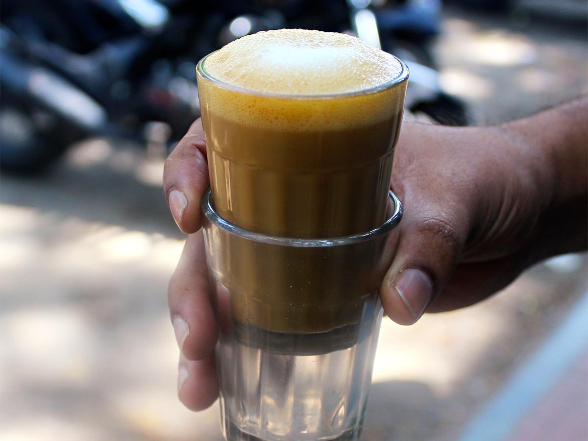 Bengaluru street cafe: SLV
