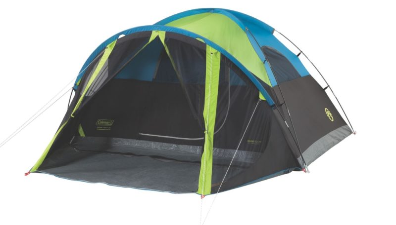 Coleman 4-Person Dark Room Tent with Screen Room
