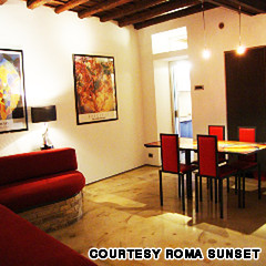 hotel roma sunset