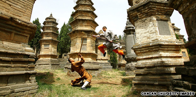 China's kung fu hometowns