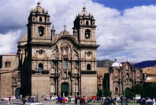 La Iglesia de la Compania de Jesus In Quito