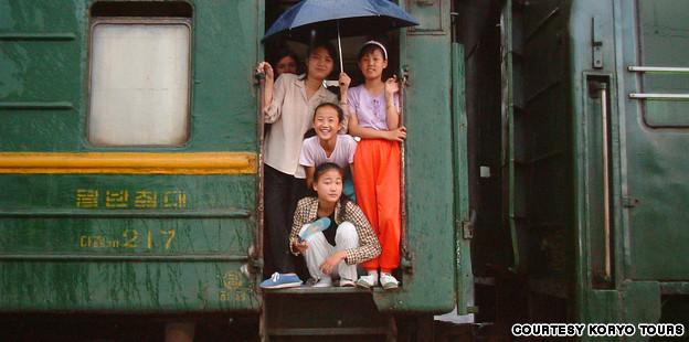 North Korea train tours