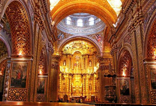 La Iglesia de la Compania de Jesus Churches Interior