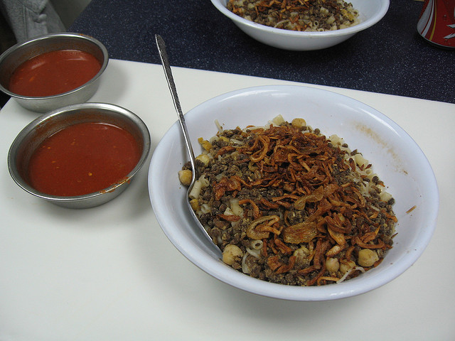 Travel Street Food: Kushari