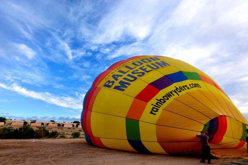 Hot Air Balloon Ride with Rainbow Ryders, Albuquerque