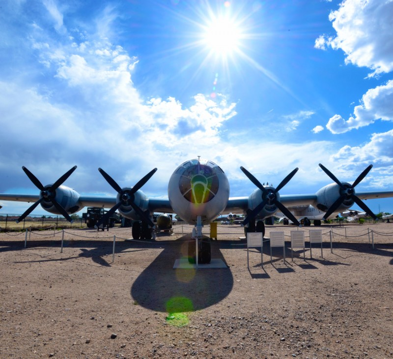 Military Bomber at Albuquerque's Nuclear Museum