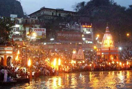 Bhagirathi River Night View