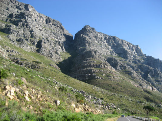 Platteklip Gorge in Table Mountain