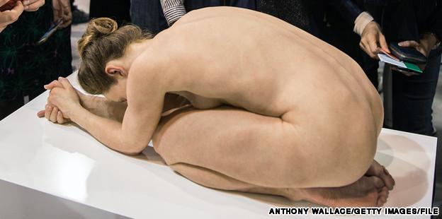 Surreal sculptures captivate crowds at Art Basel HK