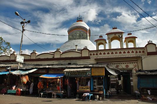Kalighat Temple in Kolkata