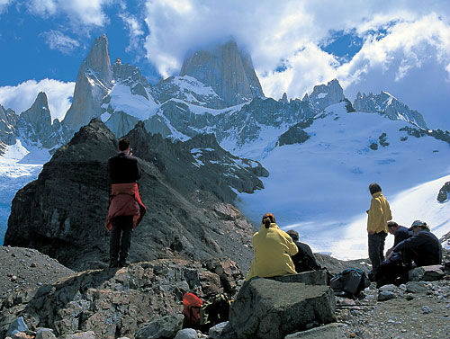 Tourist Attraction in Los Glaciares National Park