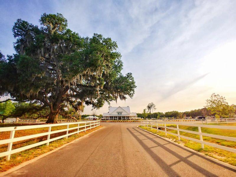 CreekFire Motor Ranch in Savannah, GA (entrance)
