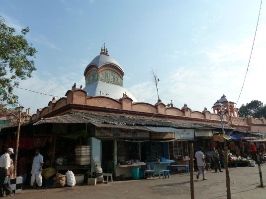 Kalighat Temple Outside View