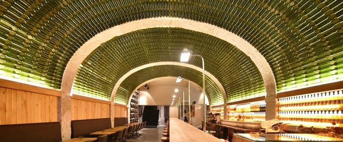 Tasting Room at By the Wine in Lisbon, Portugal