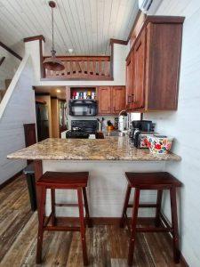 CreekFire Motor Ranch (Savannah, GA) - Kitchen in Cabin 01