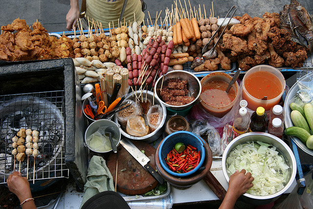 Street Food Scene