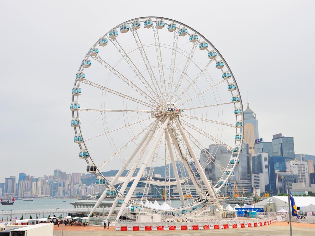 Hong Kong wheel day