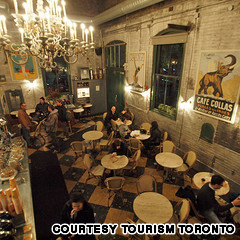 The restored - Distillery District Cafe