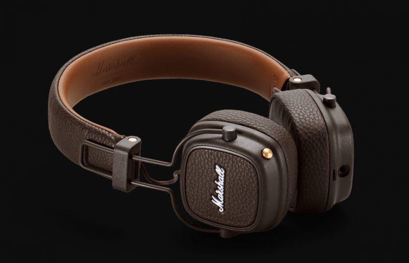 Marshall Major III Bluetooth Wireless On-Ear Headphone (Brown)
