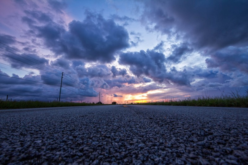 Sunset Florida Everglades