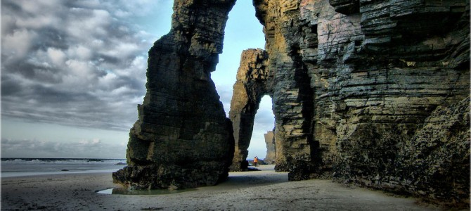 Photo of the Moment: Quiet Reverence at Praia das Catedrais, Spain