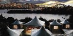 World's top urban glamping? Sydney's Taronga Zoo is a contender