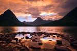Photo of the Moment: Sunset on Swiftcurrent Lake in Glacier National Park