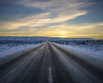 Photo of the Moment: Morning Sun on the Open Road, Iceland