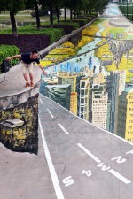 This is the world's biggest 3D painting