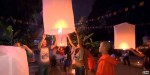 Thailand lights up the night sky with lantern festival