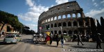 Tourists arrested for defacing Rome's Colosseum