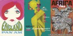 What was airline advertising like in the '60s?