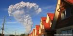 Chile's Calbuco volcano erupts near tourist towns