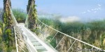 World's longest and highest glass-bottomed bridge to open in China