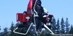 Joyride on a jetpack: Taking to the 'skies' over Paris