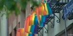 Rainbow sidewalks and other LGBT pride celebrations