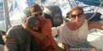 Greek tourists rescue Syrian refugee lost at sea